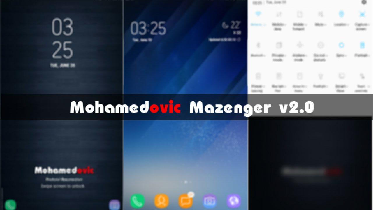 روم][نوت 3] Mazenger v2 0 بمميزات Galaxy S8 & Note 7 & Galaxy A5