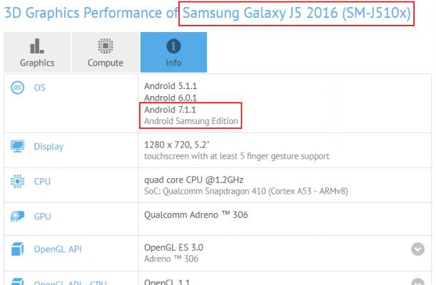 4c34c6e28 أطلقت سامسونج هاتف Galaxy J5 2016 في شهر مارس من عام 2016 مع شاشة Super  AMOLED بقياس 5.2 إنش بدقة HD وأبعاد 1280 × 720 بيكسل، وكاميرا خلفية بدقة 13  ميجا ...