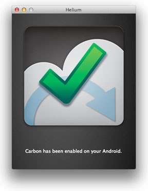 Helium App for Mac