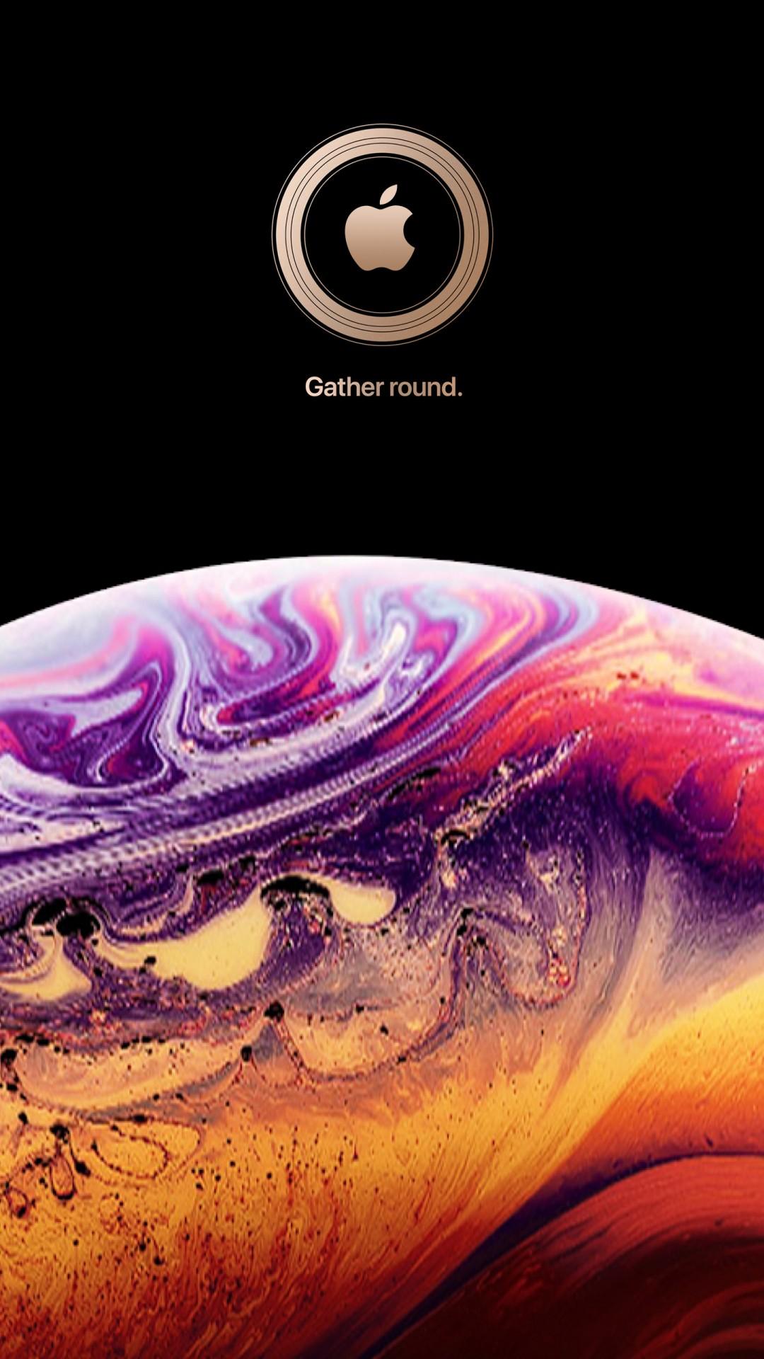 الخلفيات الرسمية 46 خلفية لأجهزة ايفون Xs Xs Max Xr