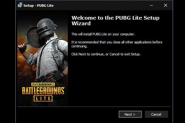 تشغيل ببجي لايت على الكمبيوتر pubg lite pc