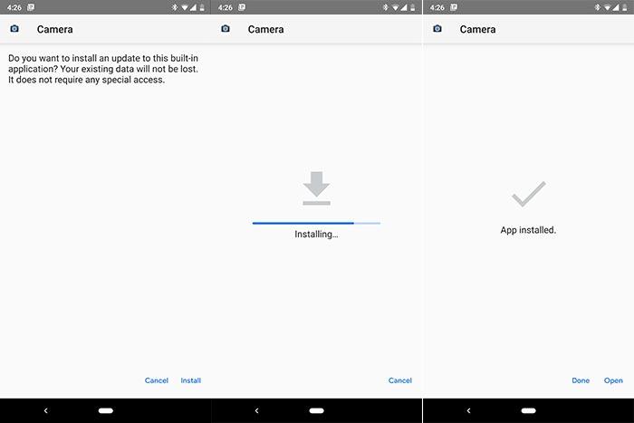 Install Google Camera Port