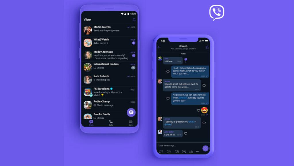 بعد ماسنجر الفيسبوك، الوضع الليلي يصِل رسميًا إلى Viber على الاندرويد!
