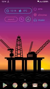 Beautiful Sunset Launcher Theme Mohamedovic