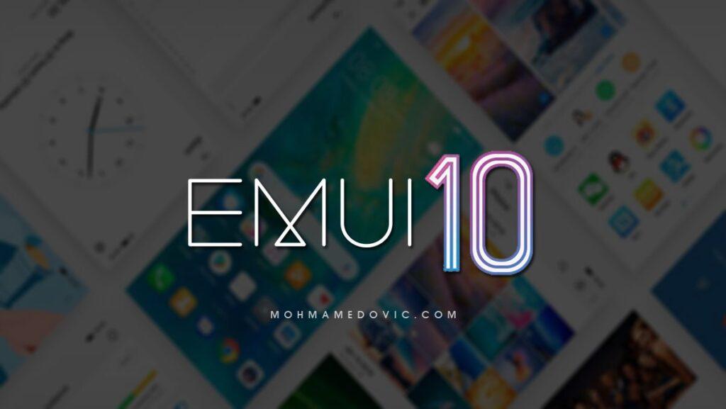 تحديث EMUI 10 لهواتف هواوي