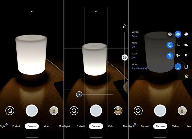 تطبيق جوجل كاميرا 7.0 من هاتف بيكسل 4