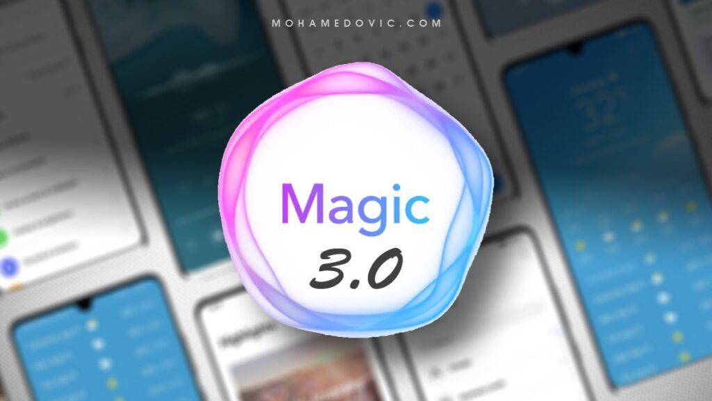 تحديث ماجيك UI 3.0 لهواتف هونور