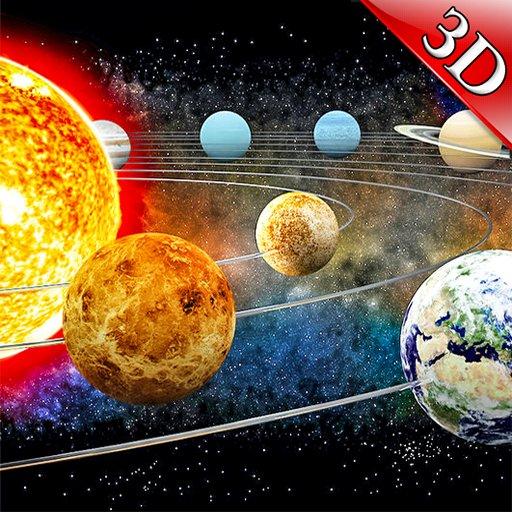 تطبيق Solar System 3D : Space View Planets