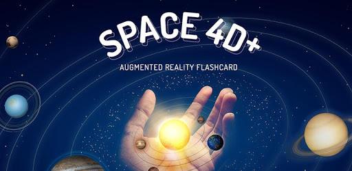 تطبيق Space 4D+ استكشاف الفضاء