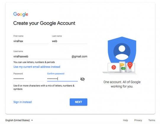 طريقة إنشاء حساب Gmail بدون رقم هاتف (شرح تفصيلي بالصور)
