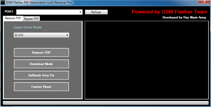 gsm flasher frp tool تحميل
