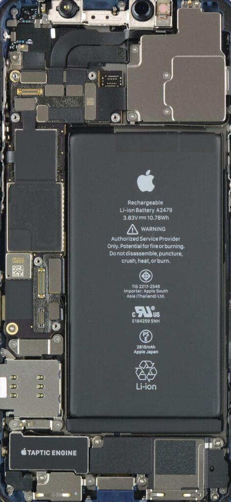 iPhone 12 Pro Teardown X Ray Wallpapers Mohamedovic 1