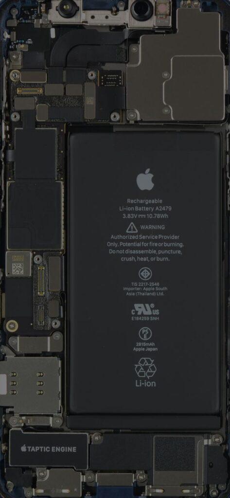 iPhone 12 Pro Teardown X Ray Wallpapers Mohamedovic 2